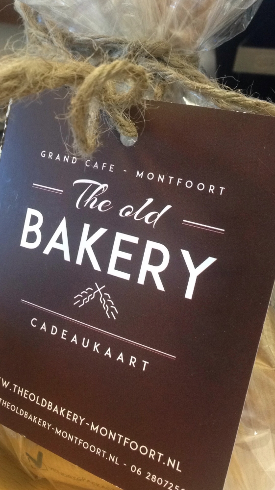 Cadeaukaart The Old Bakery Montfoort